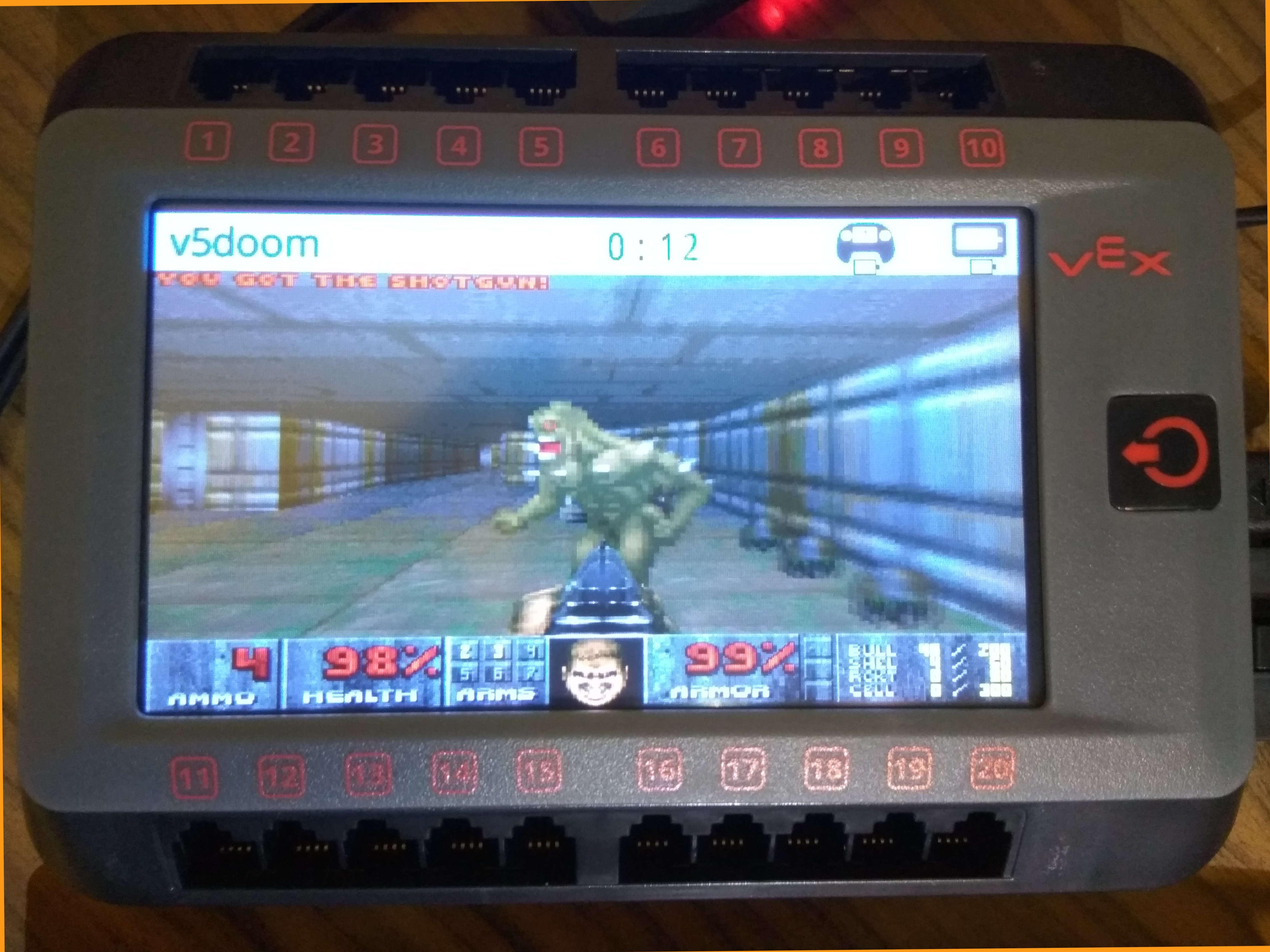 GitHub - sealj553/VexV5Doom: DOOM port for the Vex V5 Robot