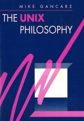 cover of the Unix Philosophy book