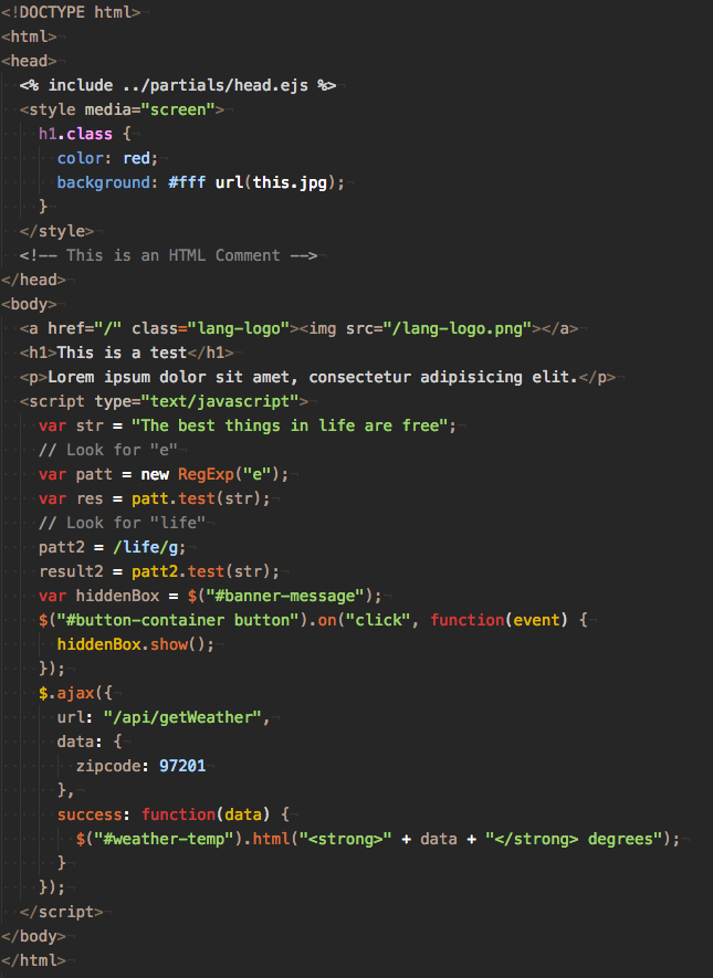 BalanceD Theme Screenshot: HTML, CSS, JS