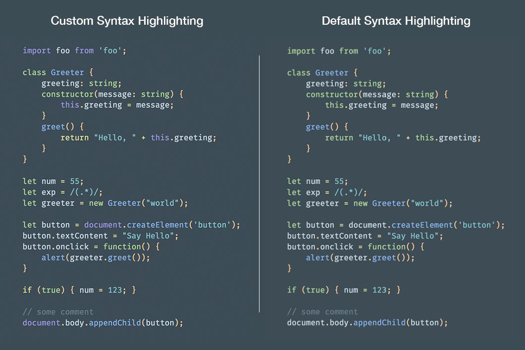 custom syntax