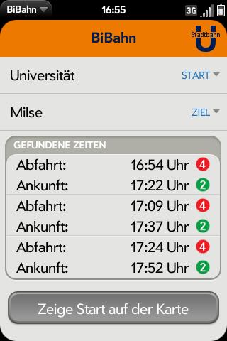 BiBahn Screenshot 0