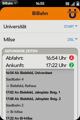 BiBahn Screenshot 1