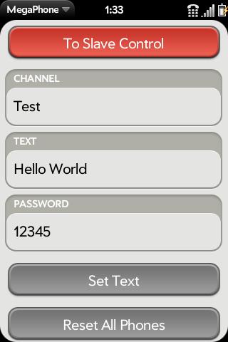 MegaPhone Screenshot 1