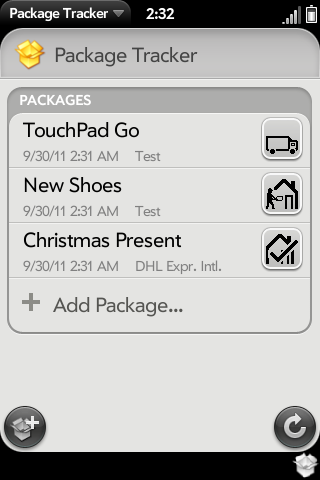 Package Tracker Screenshot 0