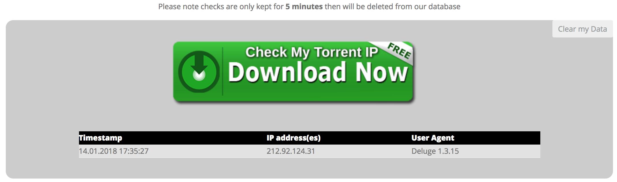 Torrent guard