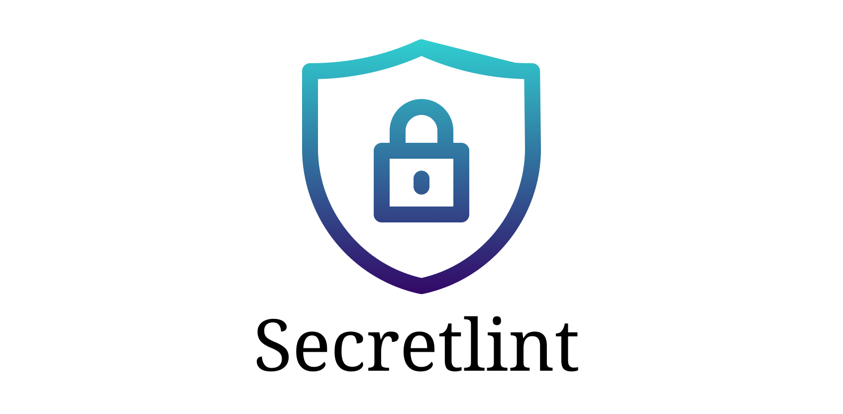 Secretlint is that Pluggable linting tool to prevent committing credential.
