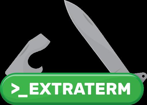 Extraterm logo