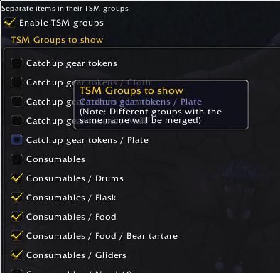 AdiBags TSM settings