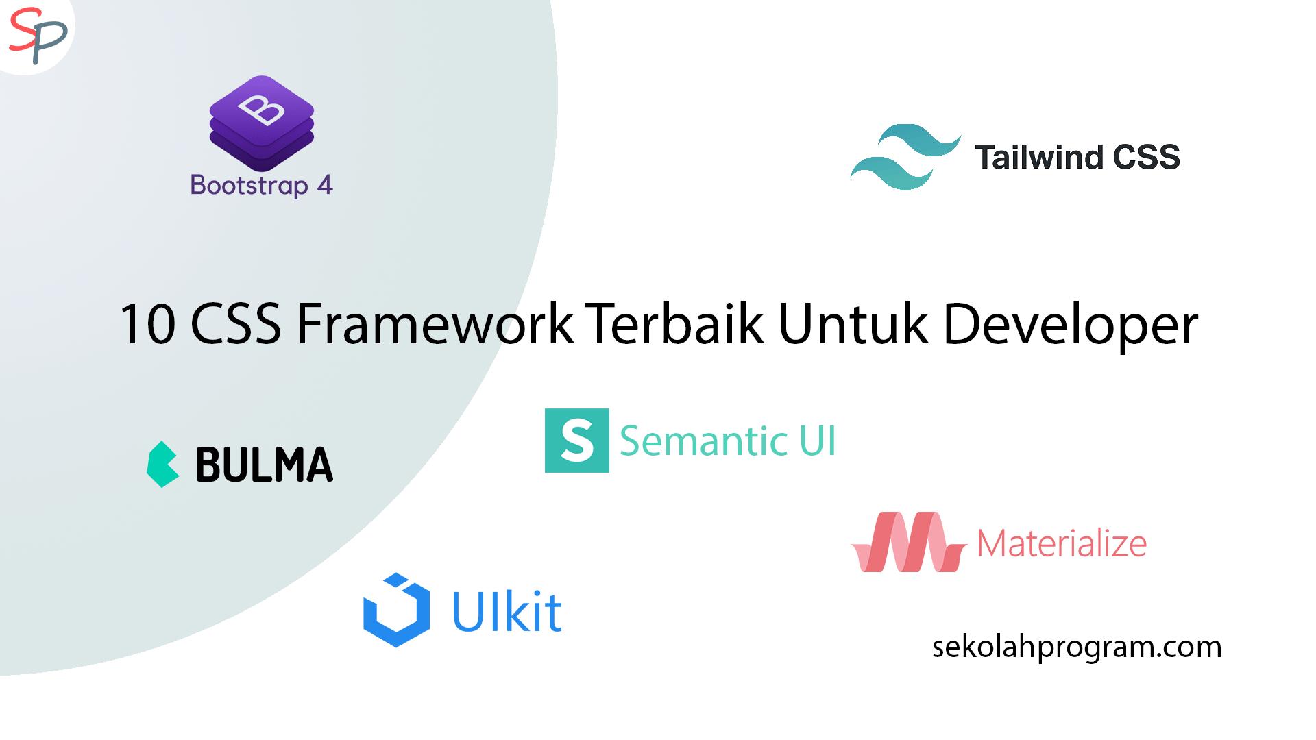 10 CSS Framework Terbaik Untuk Developer