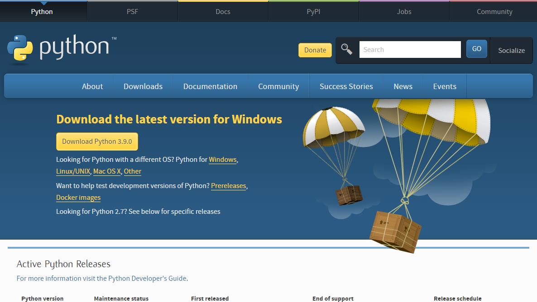 Mengunduh Python 3