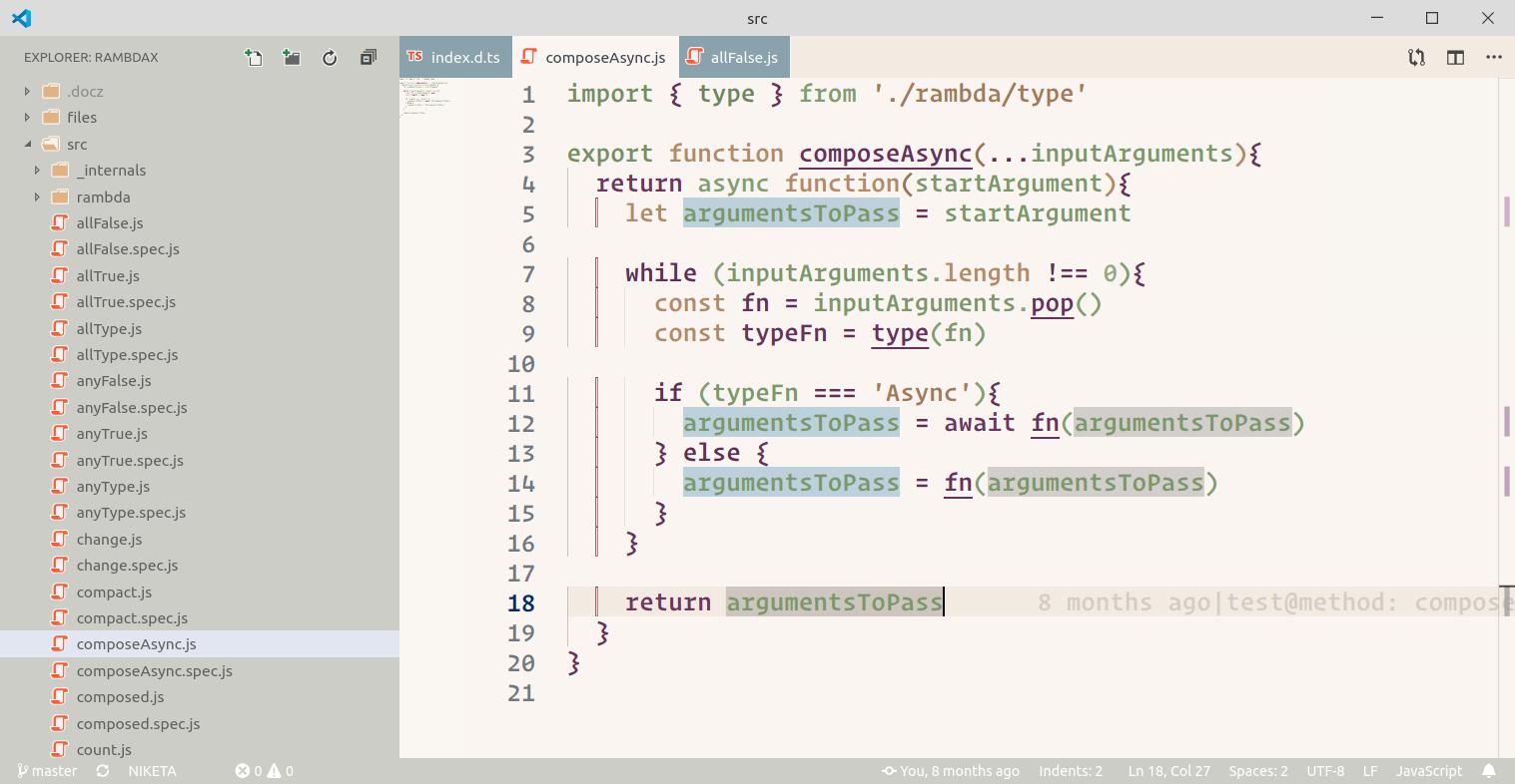 vscode screen