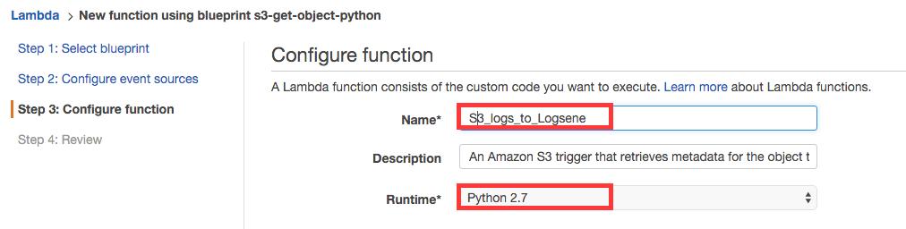 GitHub - sematext/logsene-aws-lambda-s3: AWS Lambda script to send