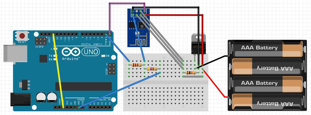 arduino-ttl-bridge schematic