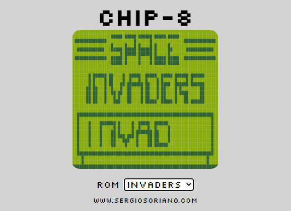 Chip-8 Space Invaders