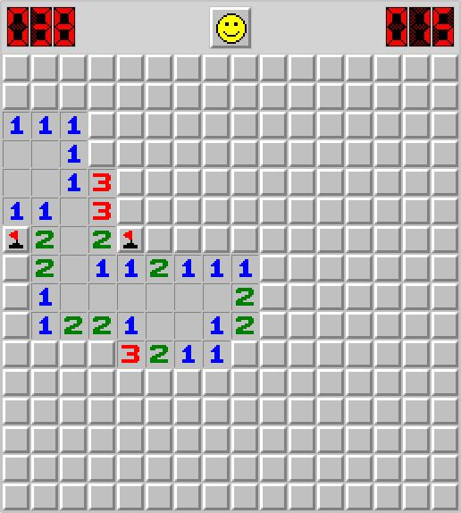 Minesweeper Game - Sergio Soriano