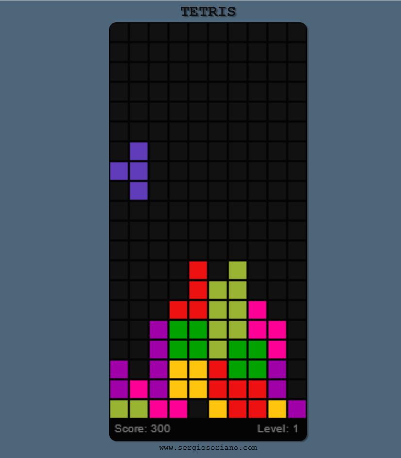 Game Play Tetris