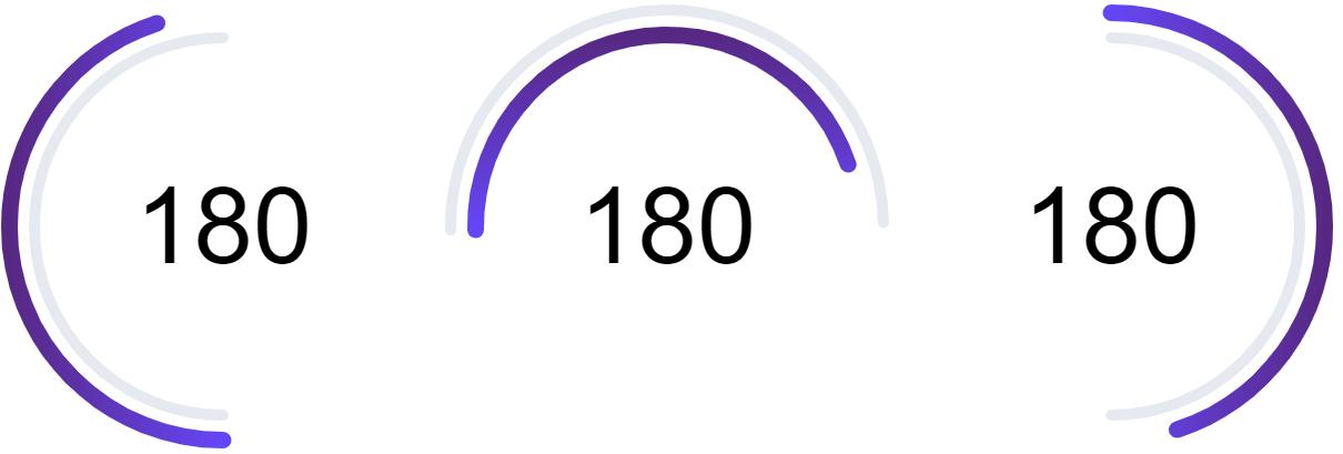 half circle example