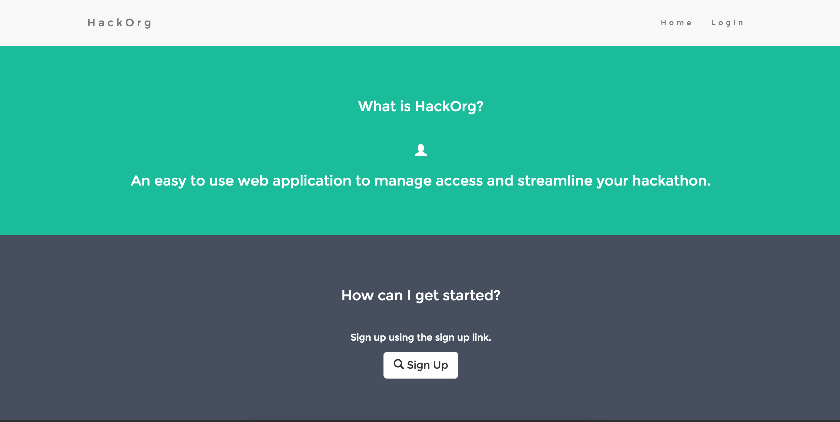 Hackathon QR App