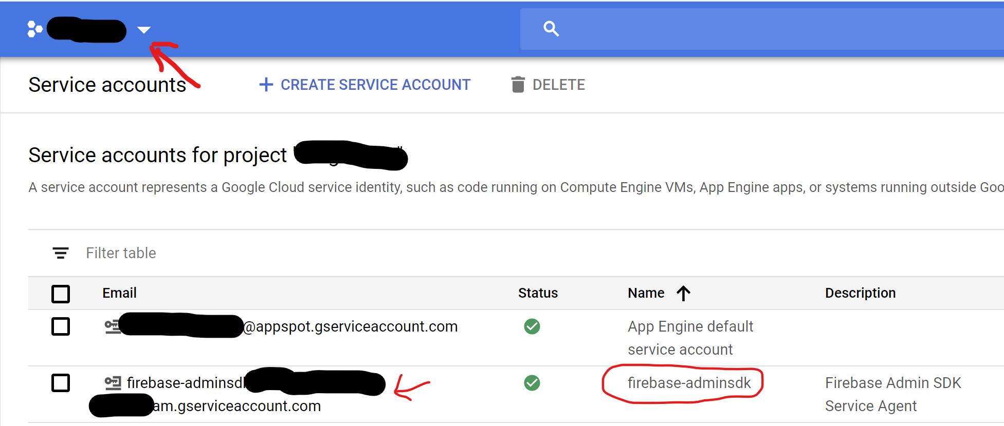 firebase-service-account