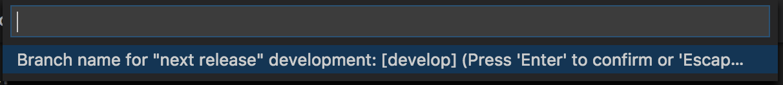 Initialize develop