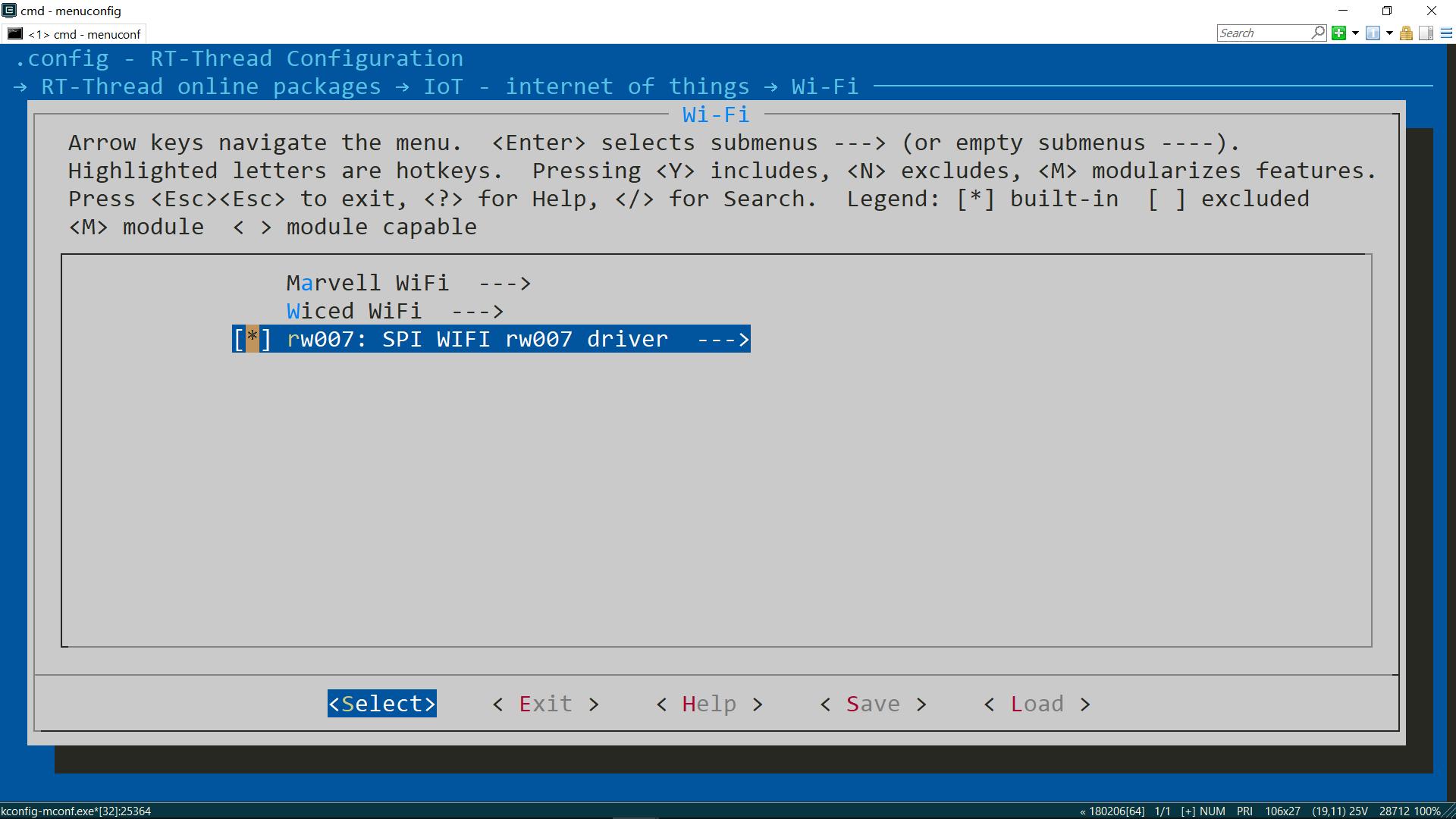 图11 使用 RW007 软件包