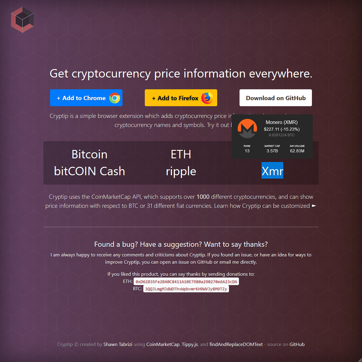 cryptip Screenshot