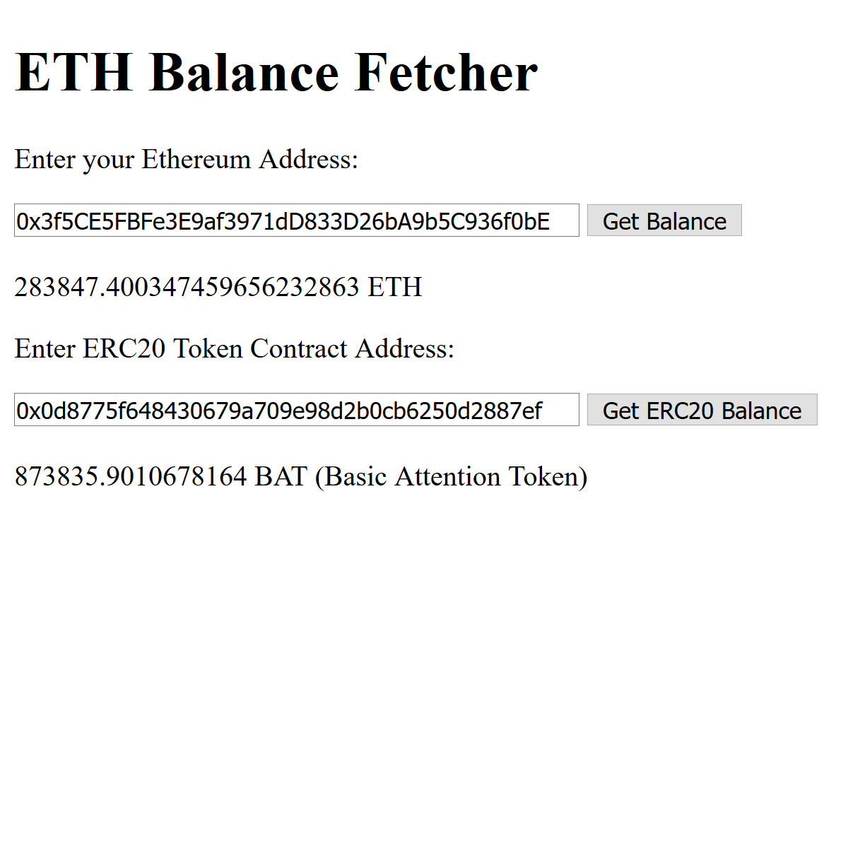 ethbalance Screenshot