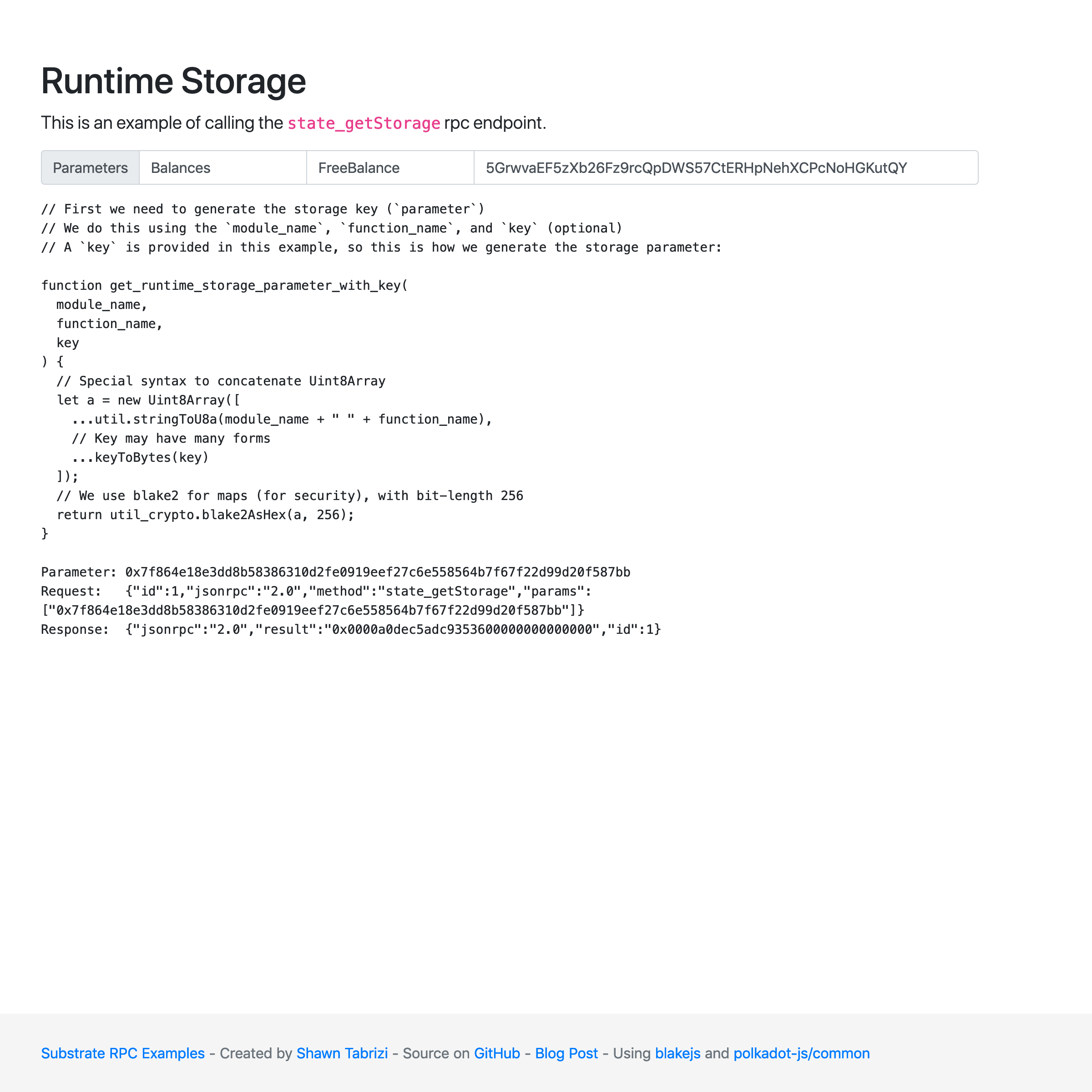 substrate-rpc-examples Screenshot