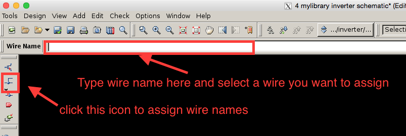 Add wire names