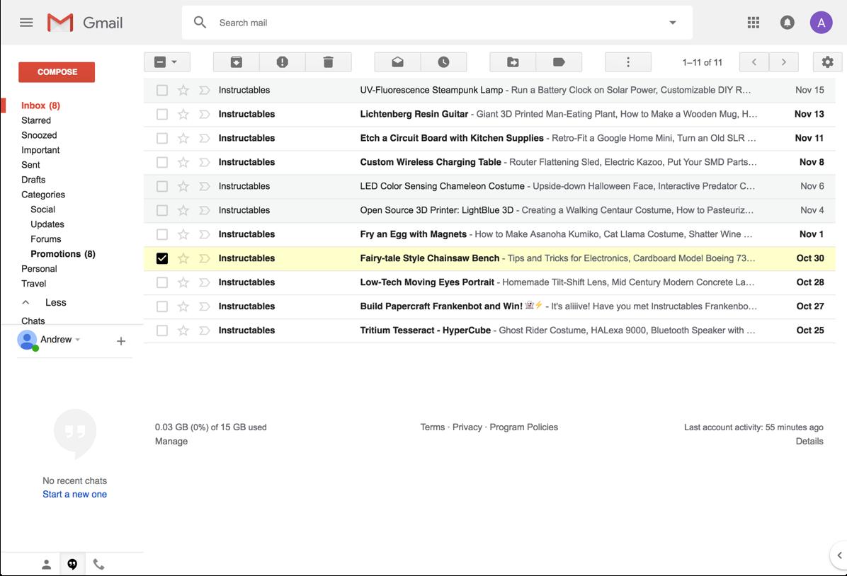 gmail classic