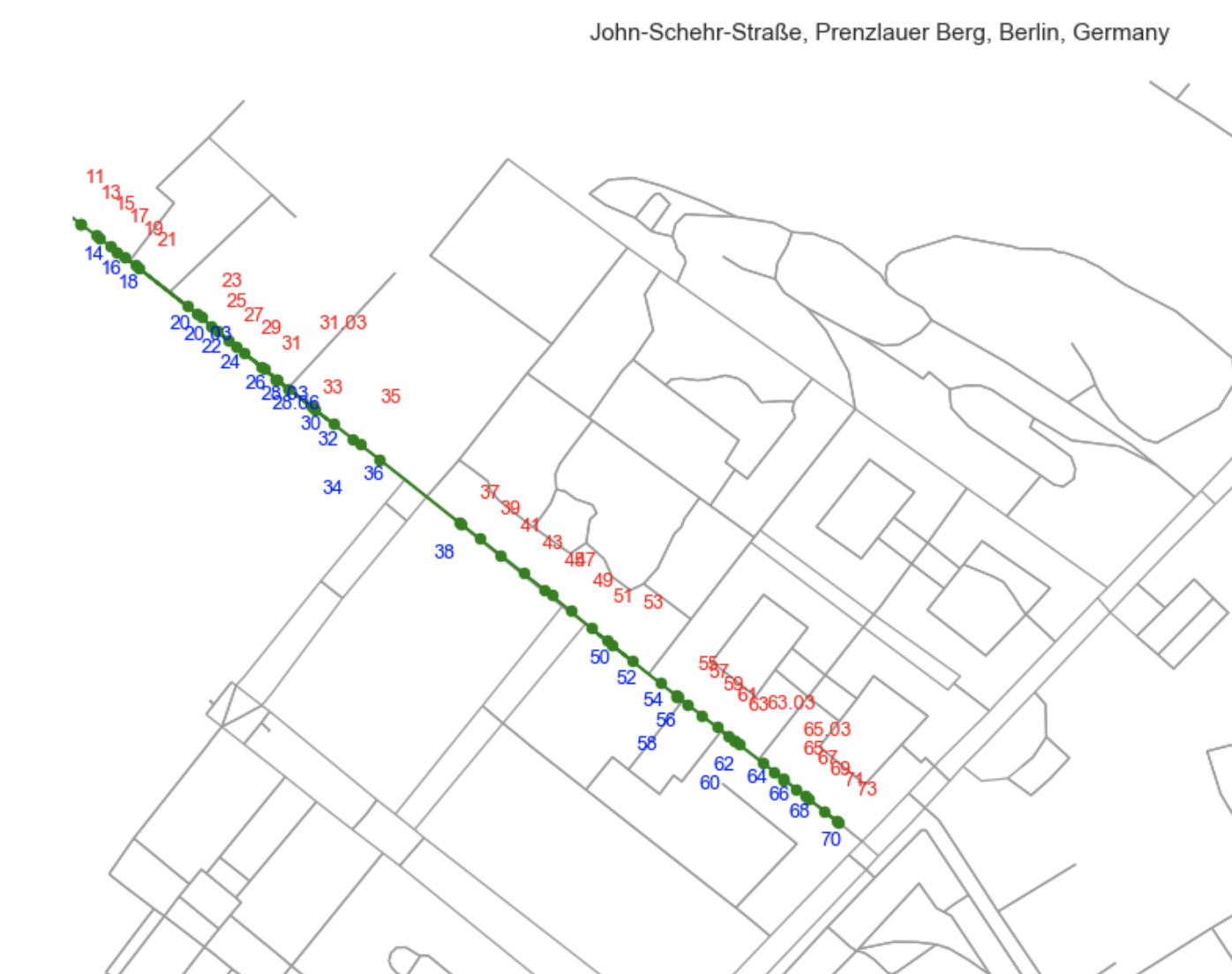 John-Schehr-Straße, Prenzlauer Berg, Berlin, Germany