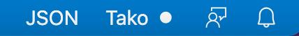 Tako Status bar showing recording status