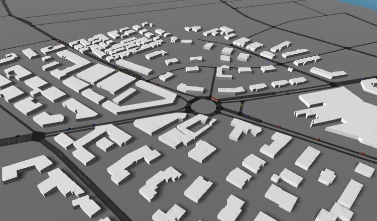 Screenshot of Bologna Acosta simulation