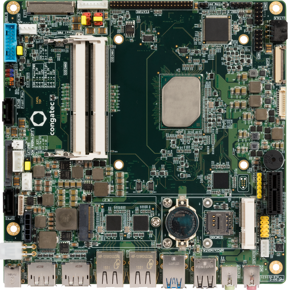 x5-E3940 quad-core Atom CPU mini-ITX board