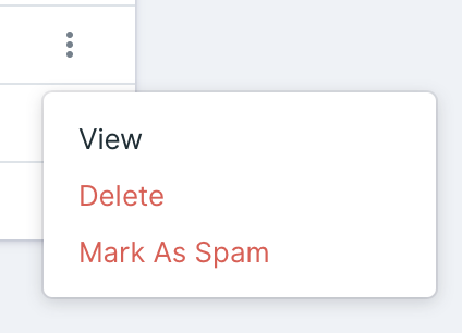 Mark As Spam