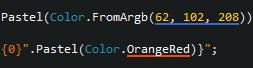 ReSharper color object underlining