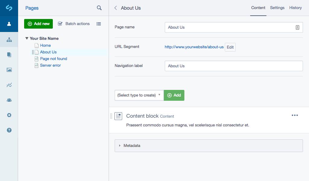 Elemental content block overview