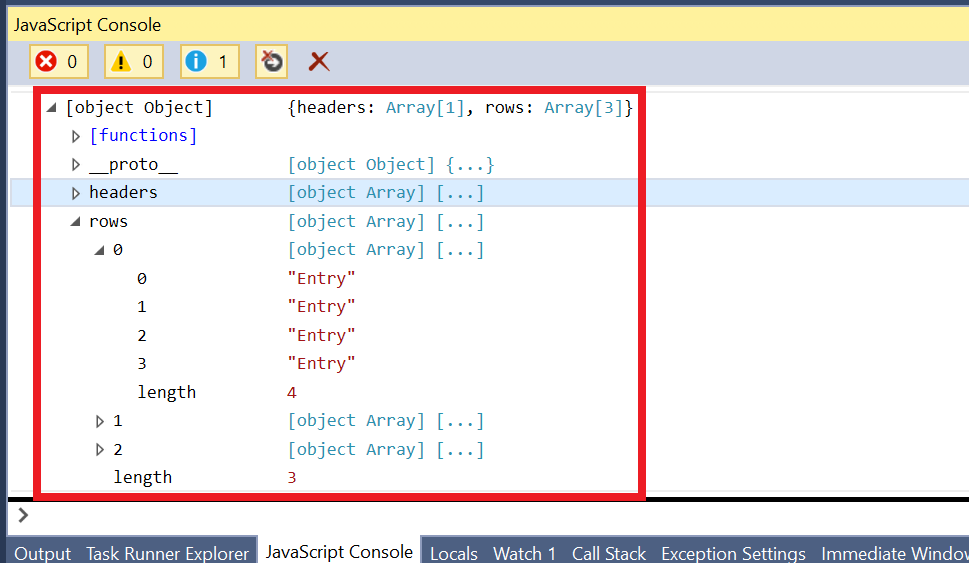 Create your first excel add in using office ui fabric simon jaeger click on the read data from binding button to log the data in the table to the javascript console view the javascript console i visual studio 2015 ibookread PDF
