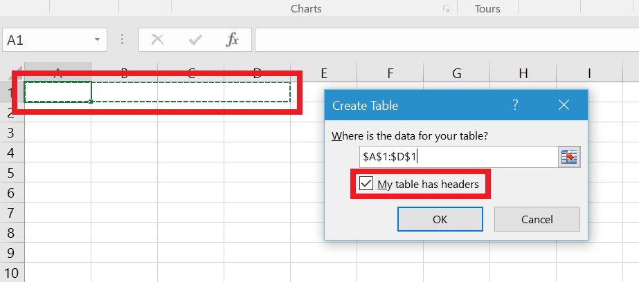 Create your first excel add in using office ui fabric for Table design ribbon in excel