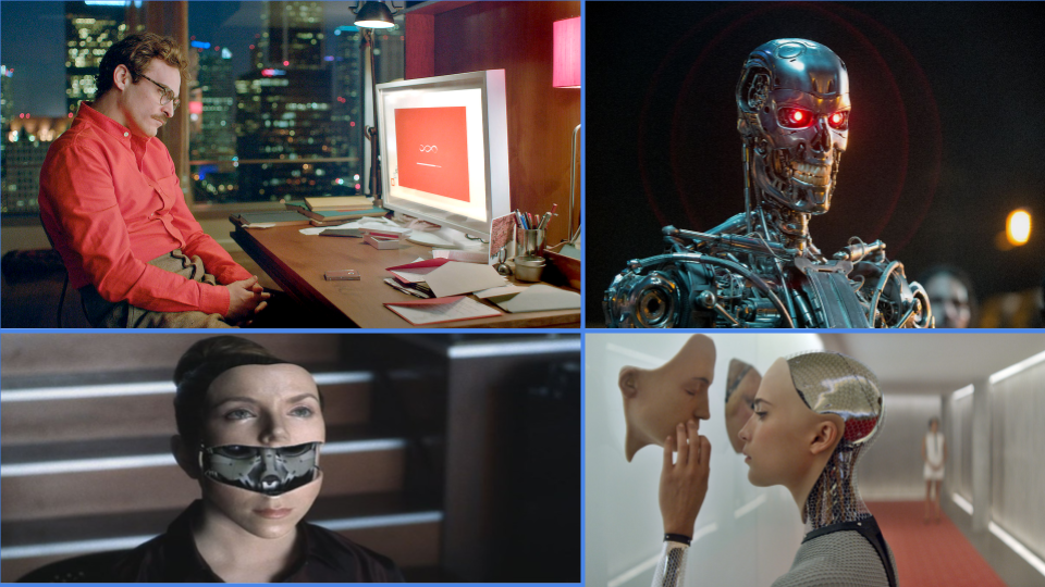People usually think of artificial intelligence as a human-like robot performing all the tasks that a person could.