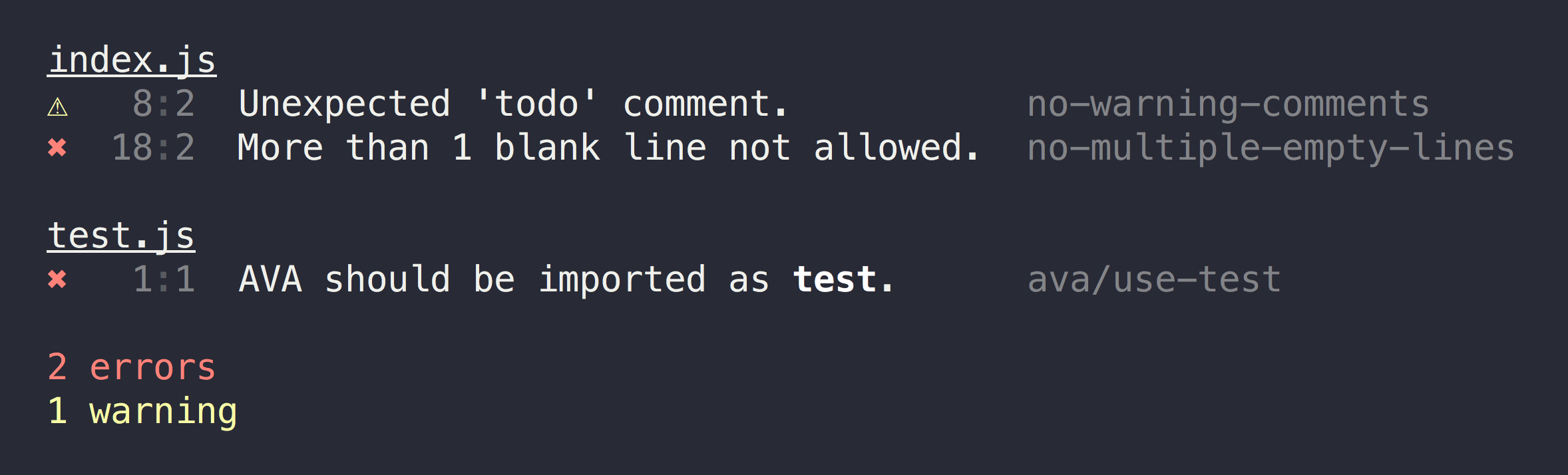 GitHub - xojs/xo: ❤️ JavaScript linter with great defaults