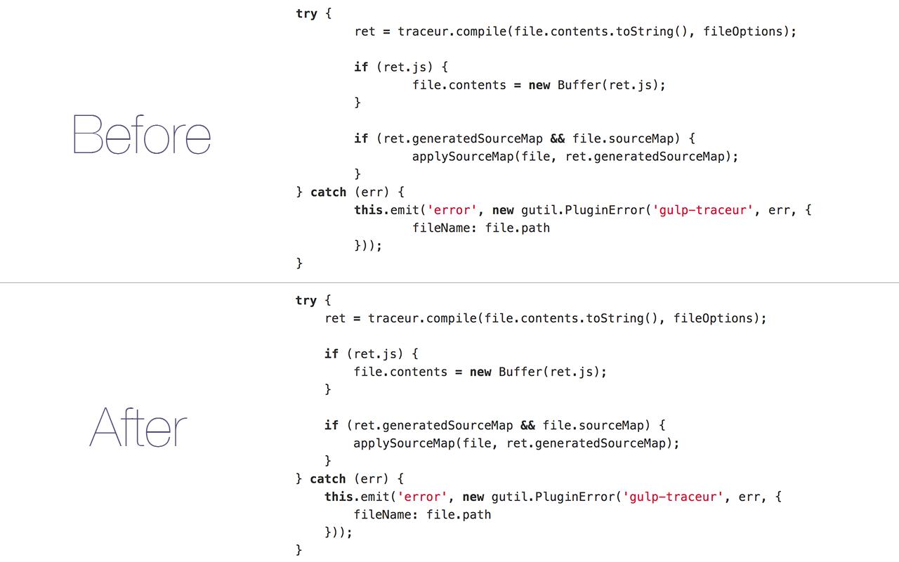 GitHub Tab Size Screenshot