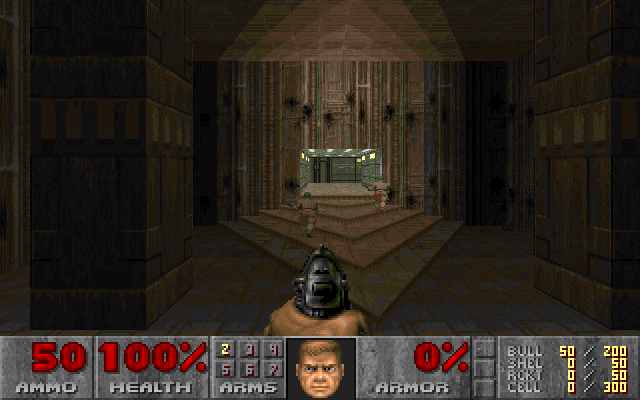 Doom II MAP01 screenshot