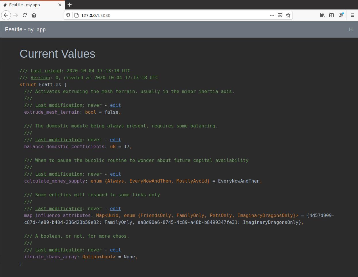 Web Admin UI