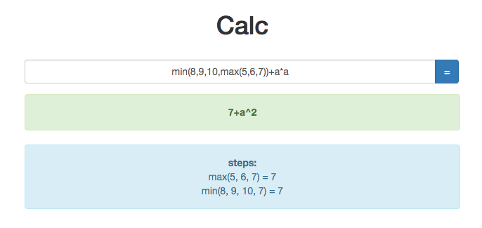 Calc Screenshot