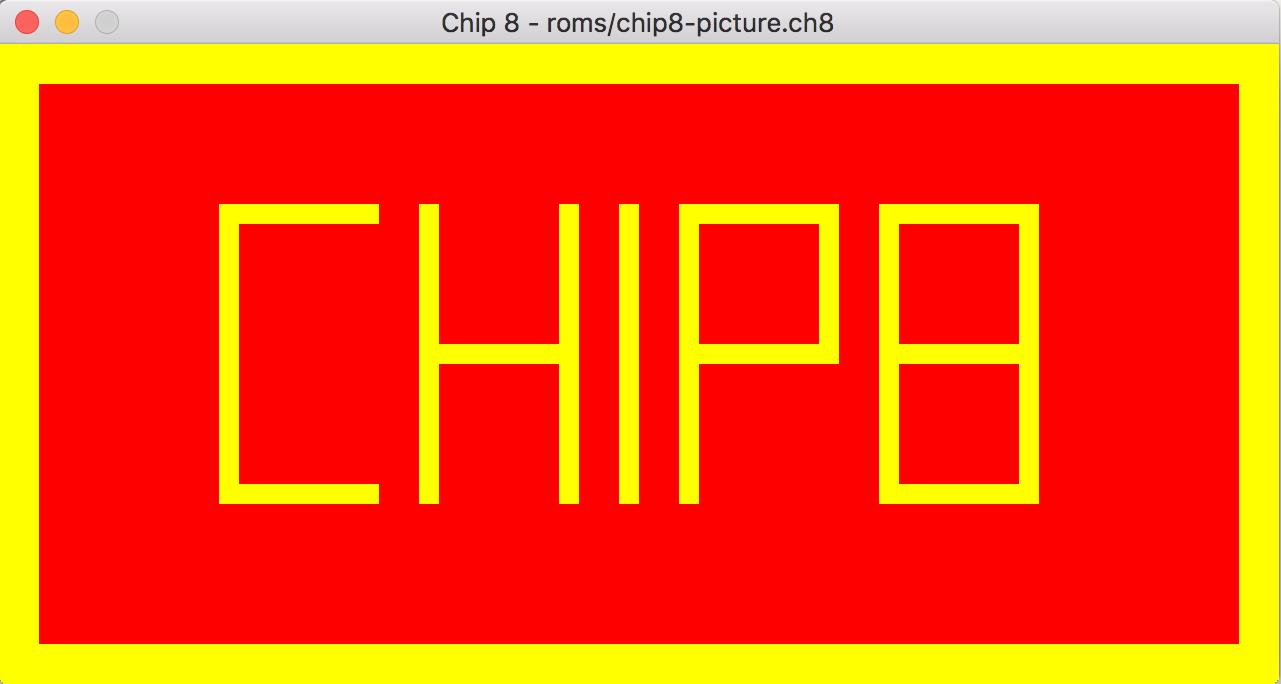 Hello Chip8