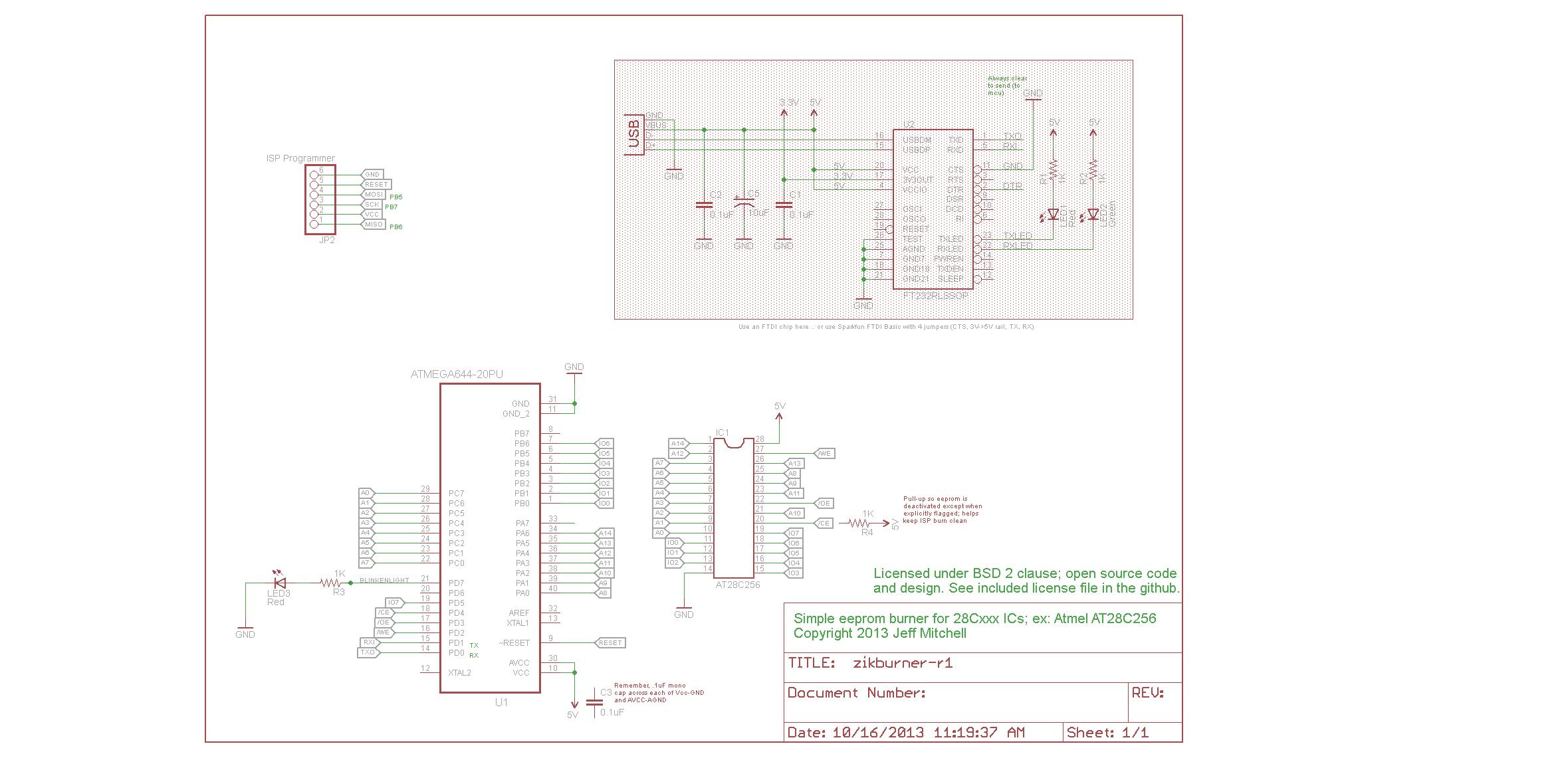 Project: atmega based eeprom programmer | AVR Freaks