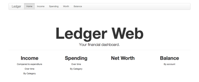 Ledger Web