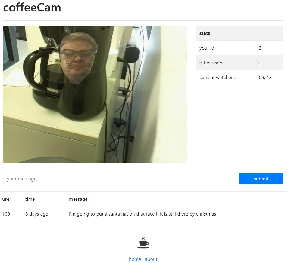 https://github.com/slightlynybbled/coffeecam/blob/master/docs/img/coffeecam-full.png